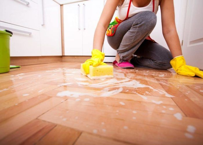 Регулярная влажная уборка жилых помещений