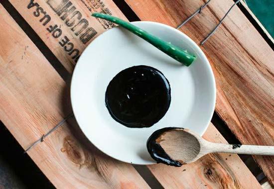 Маски из угля простое средство от черных точек