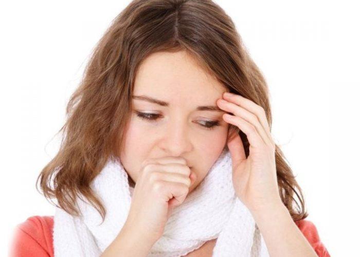 Уменьшение объема отделяемой мокроты при кашле