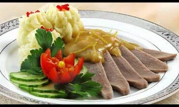Как приготовить говяжий язык в домашних условиях