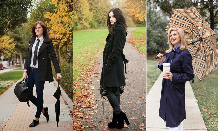 Модная элегантная классика: с чем носить тренчкот