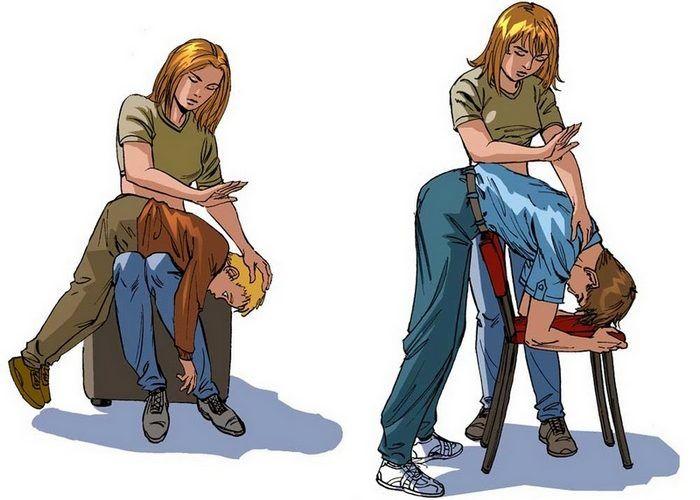 Извлечение инородного тела у взрослого или подростка