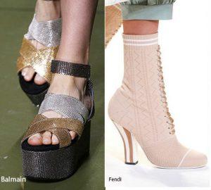 Весна-лето 2017 года: модные тенденции в обуви