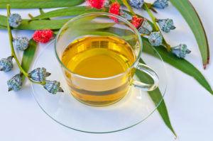 Эвкалиптовый чай для лечения кашля