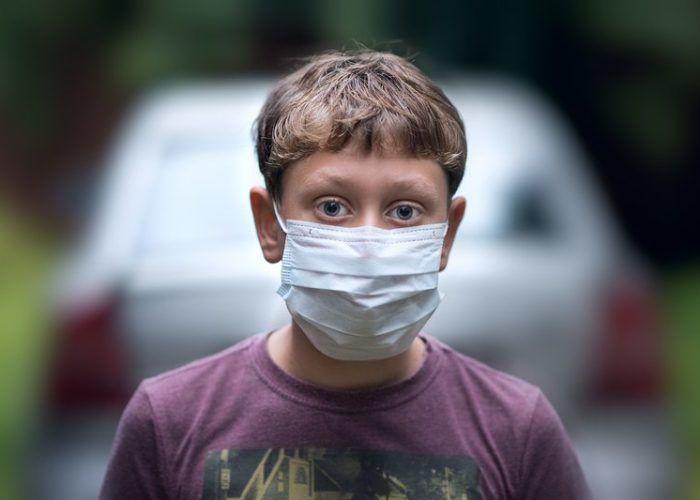 Использование маски при загрязненном воздухе