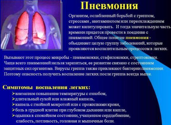 Осложнением бронхита является пневмония