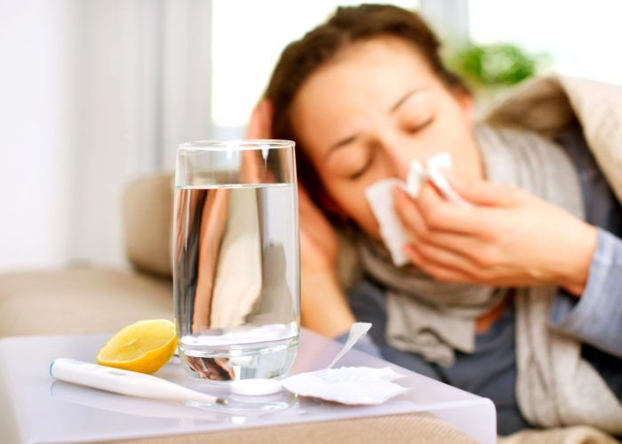 Начальный этап простуды