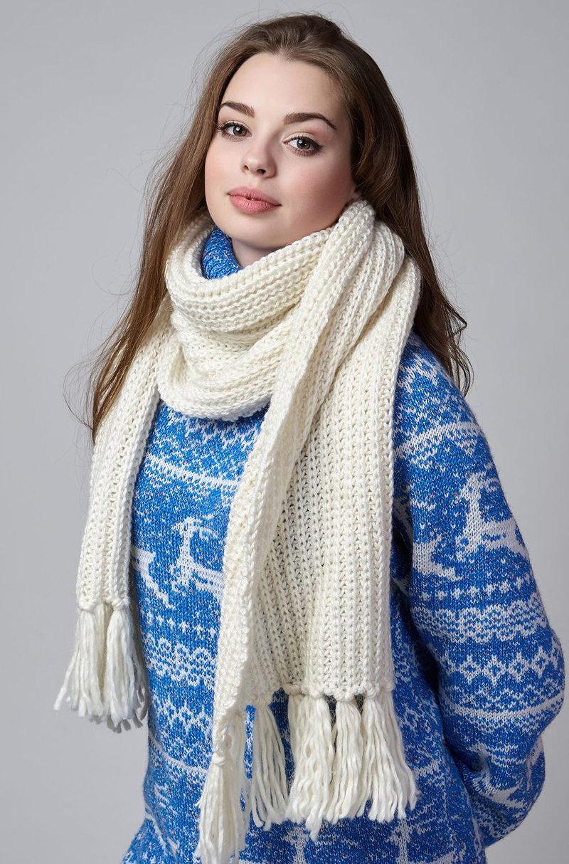 длинные шарфы