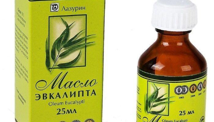 Эфирное масла эвкалипта