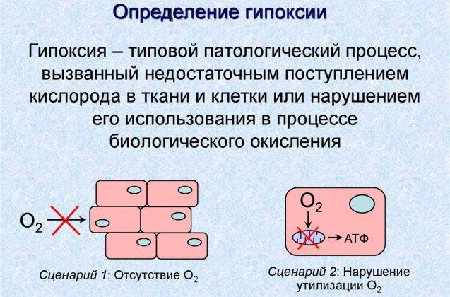 Общая гипоксия клеток тела