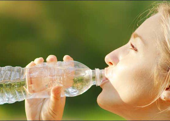 Обильное питье воды
