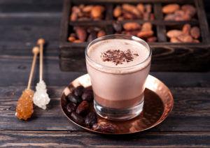 Какао с шоколадом для лечения кашля