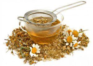 Ромашковый чай для лечения кашля