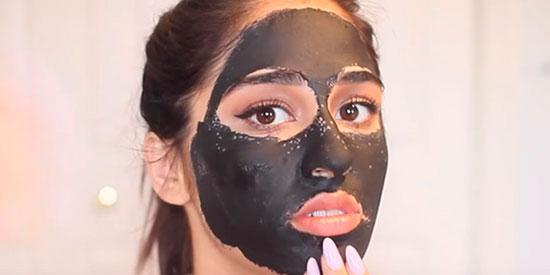 Домашний салон красоты или черная маска для лица