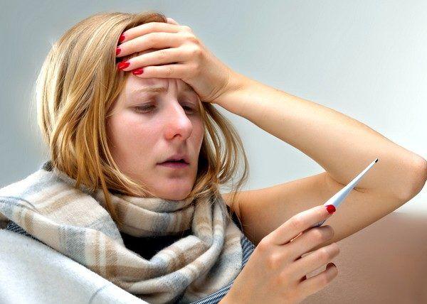 Острый период простудного заболевания