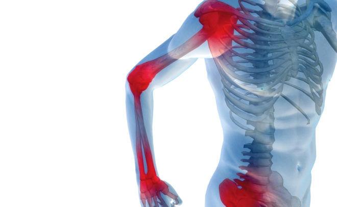 Боли в костях могут вызвать неприятные ощущения в легких