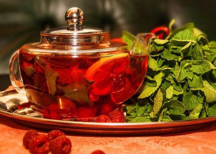 Фиточаи из листьев малины, смородины