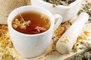 Травяные чаи для лечения кашля