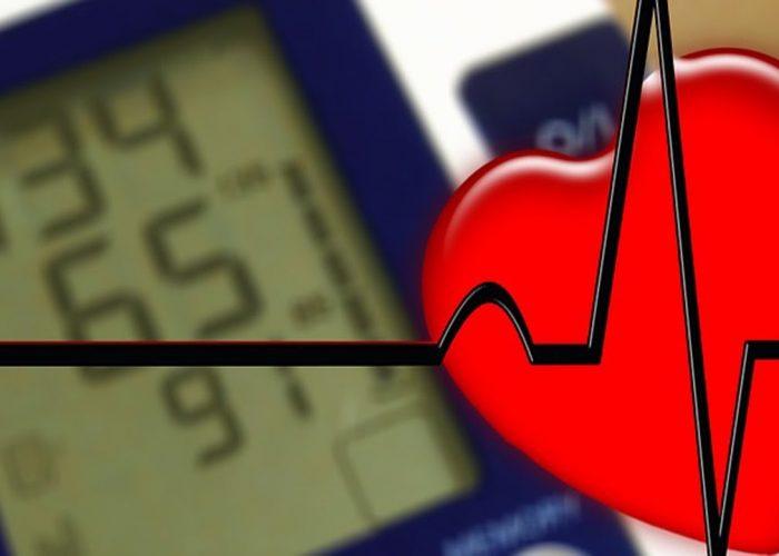 Понижается давление в малом круге кровообращения
