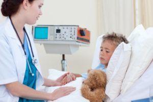 Контроль положения пациента при пневмонии