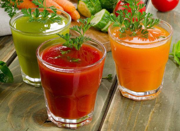 Овощной напиток для лечения кашля