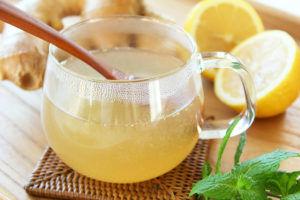 Лимонный сок с мёд для лечения бронхита