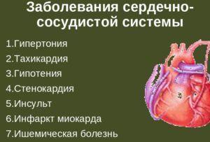 При сердечно-сосудистых заболевания липа запрещена