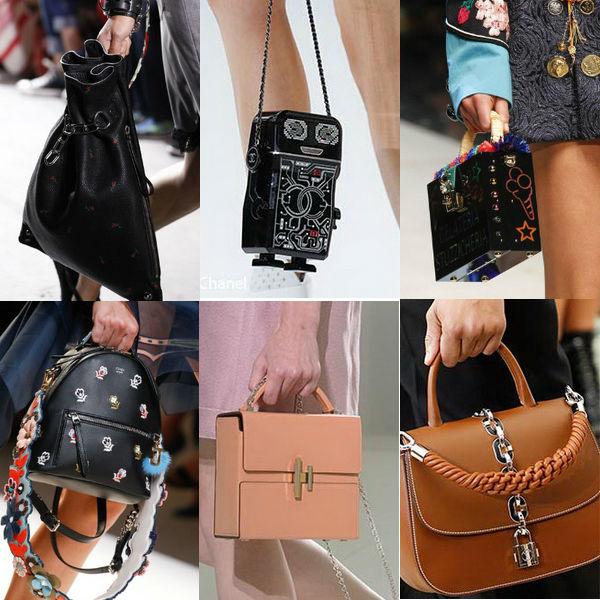Alexander Wang, Chanel, Dolce&Gabbane, Fendi, Hermes, Louis Vaitton