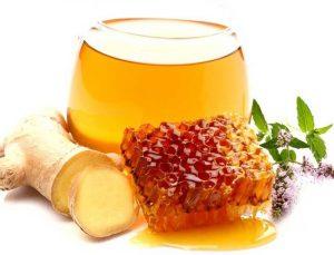 мед и имбирь