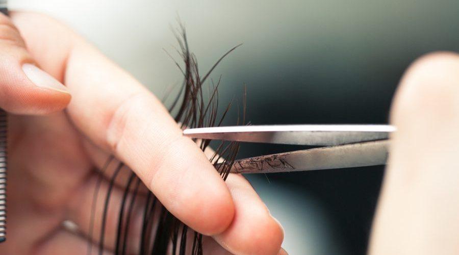 Как подровнять кончики волос в домашних условиях