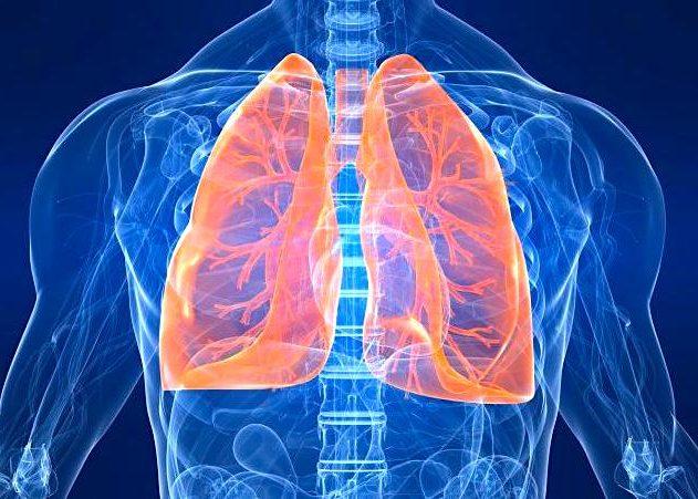При заболеваниях дыхательных путей