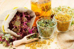 Отвар трав для лечения заболевания
