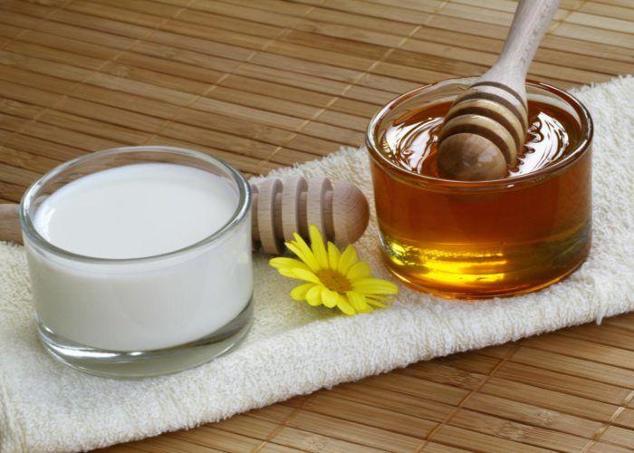 Молоко с медом