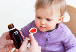 Препараты для лечения спазматического кашля у детей