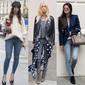 С чем носить женские джинсы разных фасонов