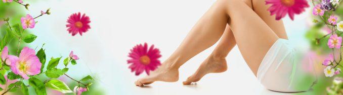 здоровые ноги девушки