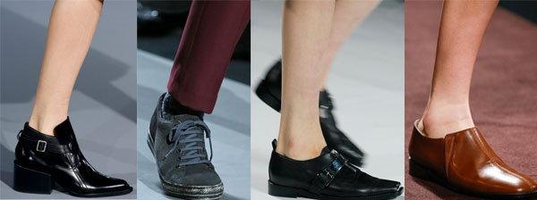 Мужской стиль в женской обуви