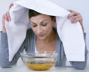 Горячая ингаляция для лечения кашля