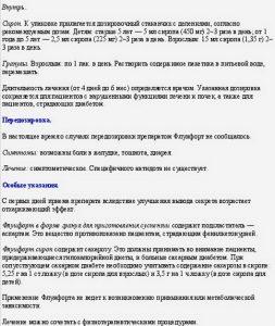 Сироп Флуифорт инструкция