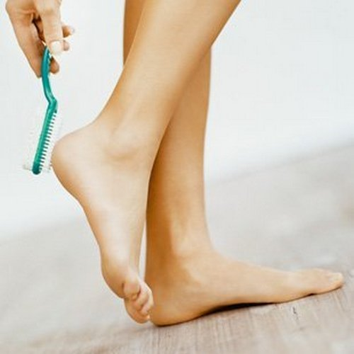 уход за пятками ног
