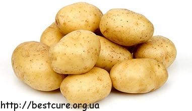 Лечение картошкой - одно из самых распространенных среди домашних средств.