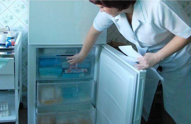 Лекарство нельзя хранить в морозильной камере