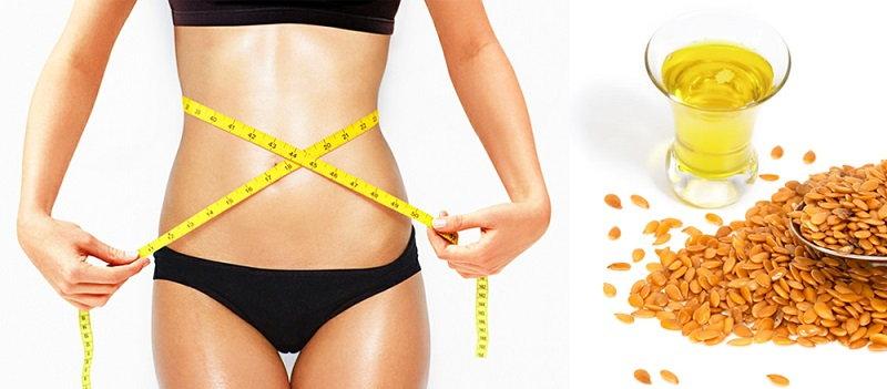 масло льна для похудение
