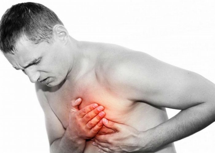 Появление боли и дискомфортных ощущений в области сердца