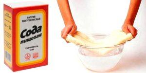 компресс с содой