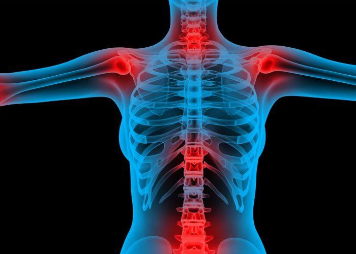 При инфекционных поражениях костных тканей и суставов