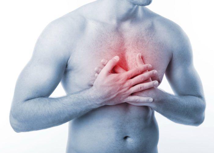 Сдавливающее чувство в груди