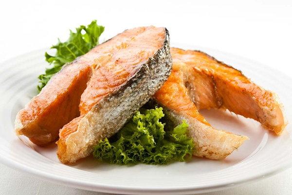 рыба на обед
