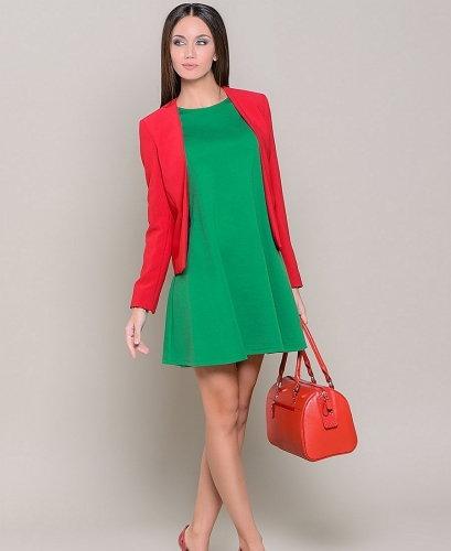 зеленое с красным