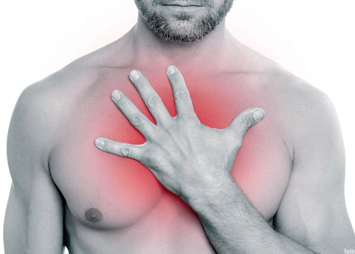 Дискомфортные ощущения в груди